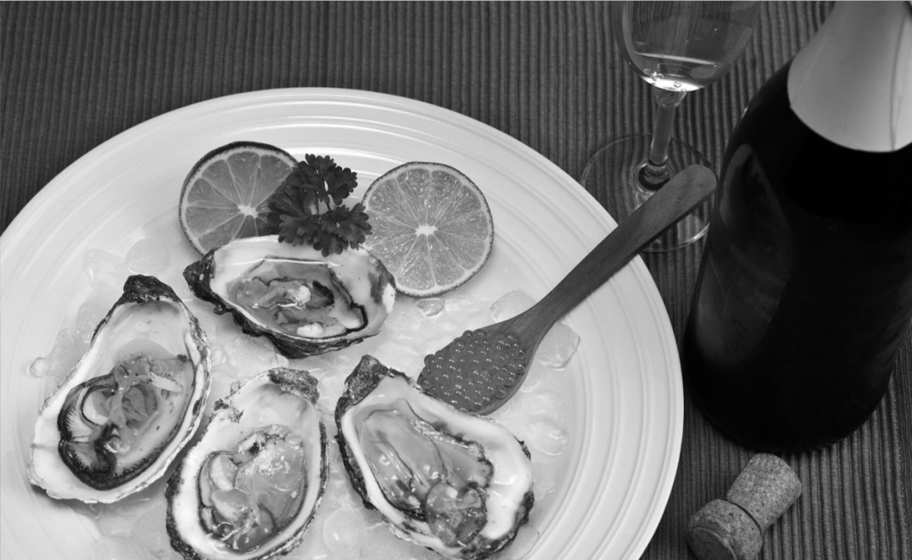 FROM OYSTERS TO CHAMPAGNE